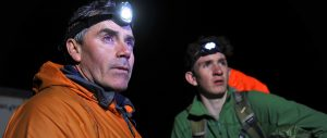 Head torch - photo by fergusburnett.com