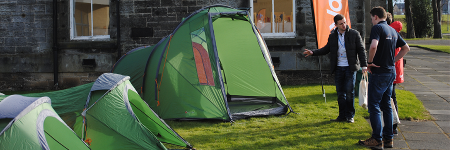 Vango XD range – made for DofE expeditions