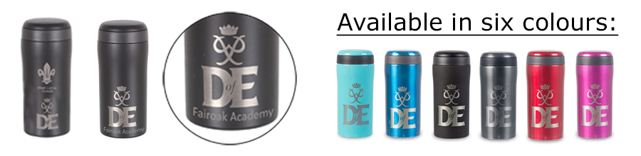 DofE thermal mugs group