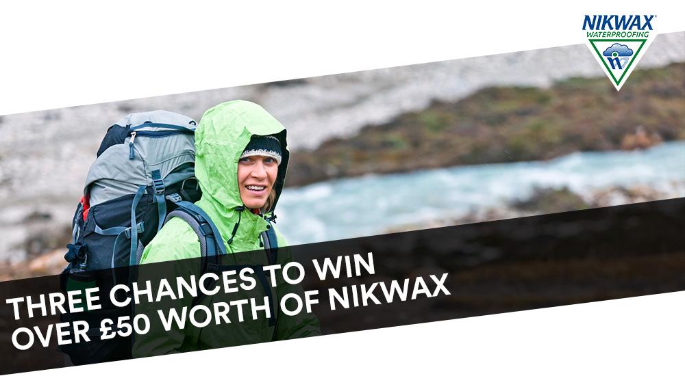 nikwax prize draw