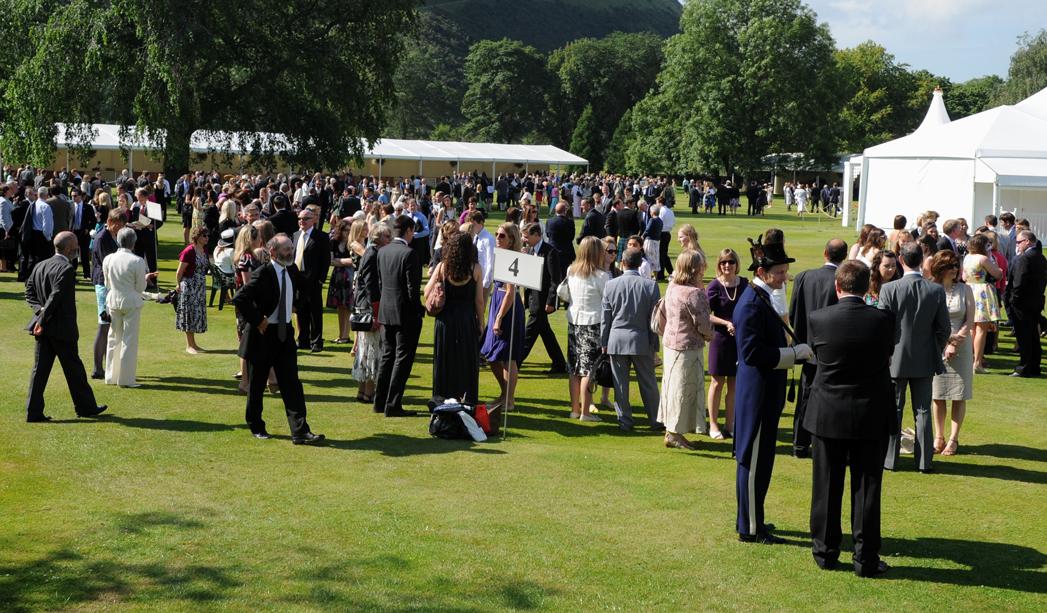 Buckingham Palace Gold Award Presentation