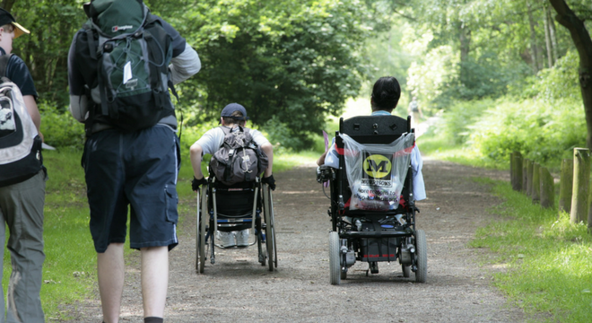 Wheelchair - Modes of travel