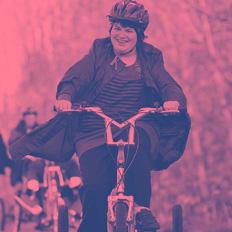 SEND tricyclist