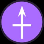 Purple expedition icon