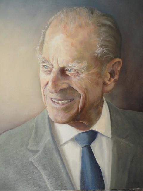 Portrait of Duke of Edinburgh