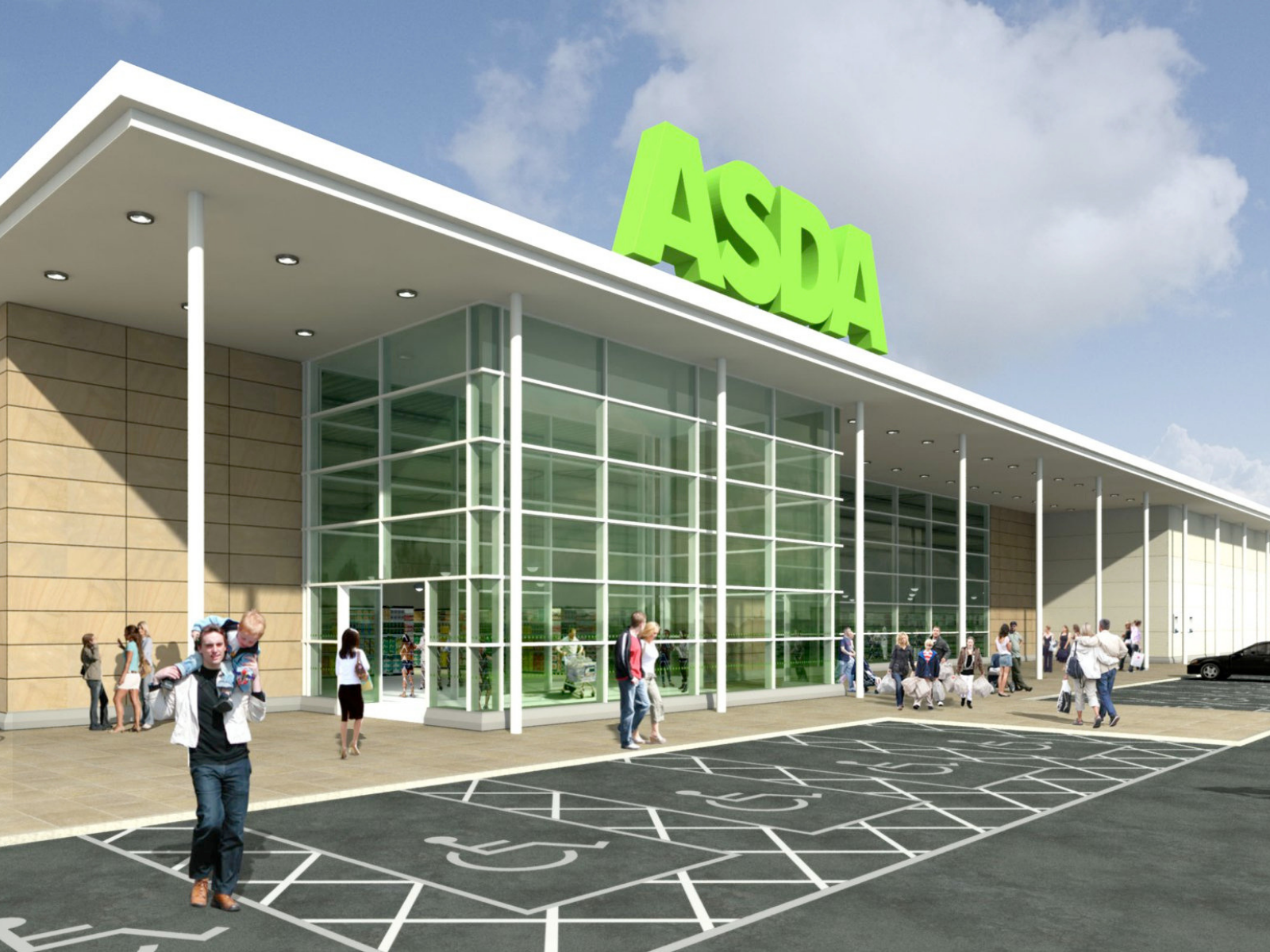 Asda storefront