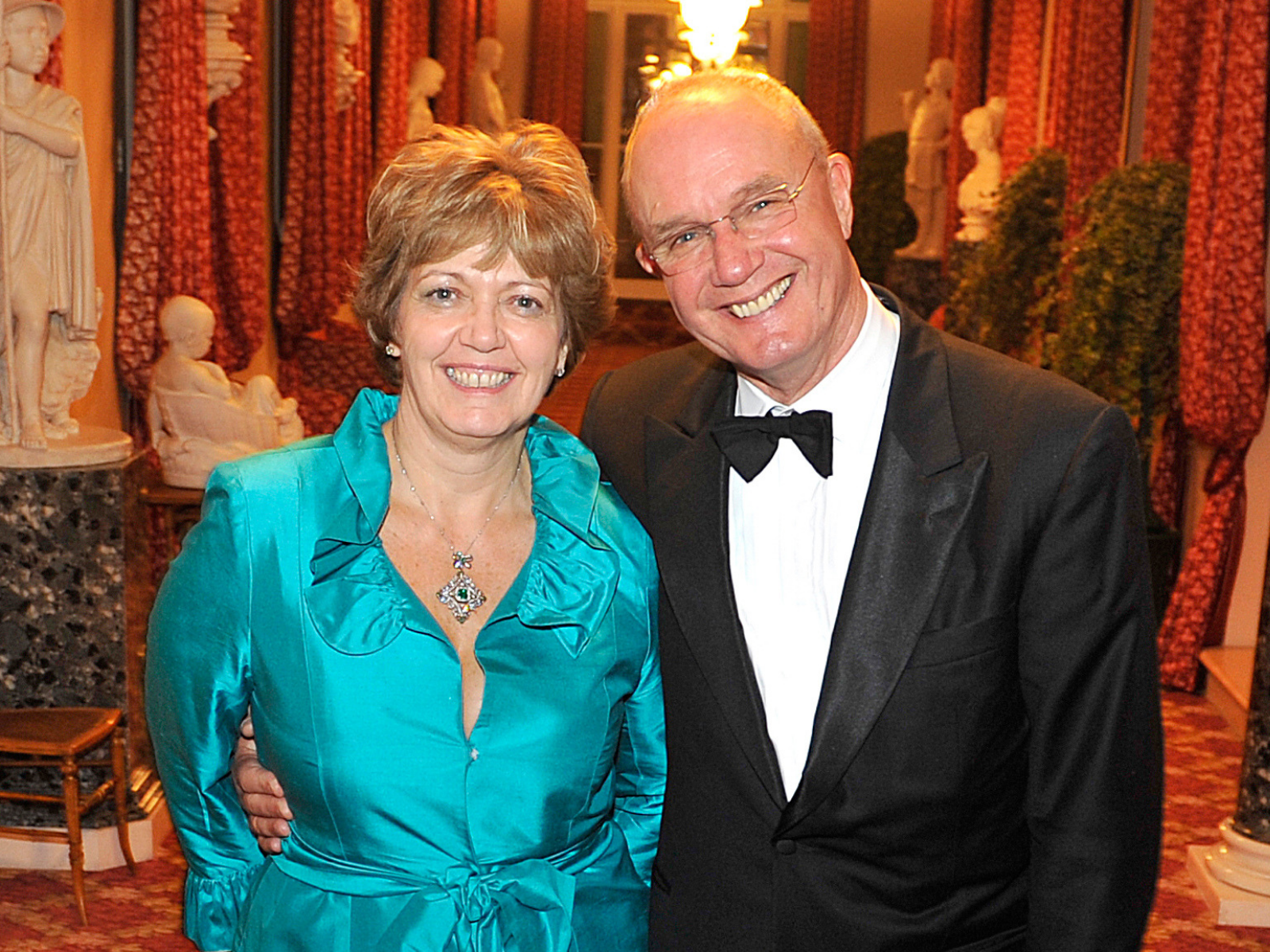 Martin and Roni Lovegrove at St James's Palace