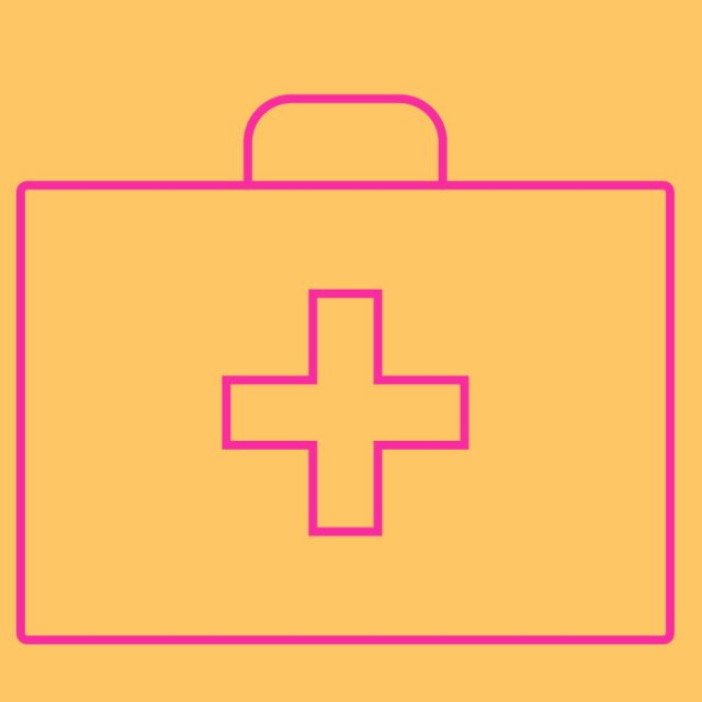 Icon of first aid box