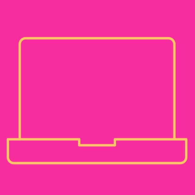 Icon of a computer